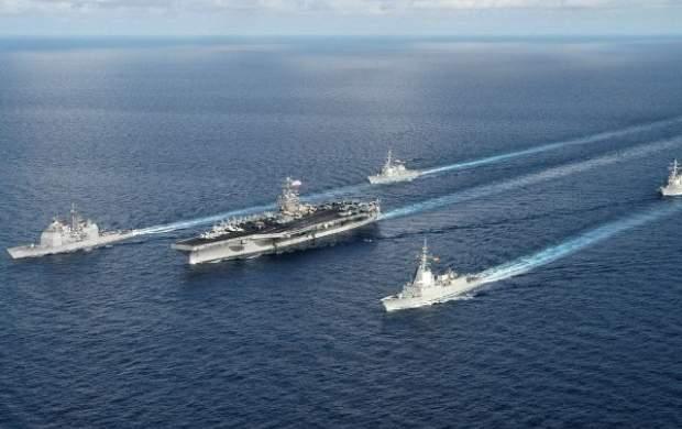 ناوگروه تهاجمی آمریکا وارد دریای چین شد