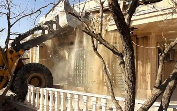 تخریب ۴۳ ویلای میلیاردی در ملارد