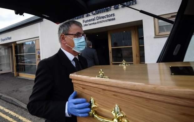 تلفات کرونا در انگلیس شش رقمی شد