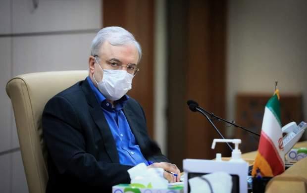 نمکی: شعلههای کرونا در تهران روشن شده