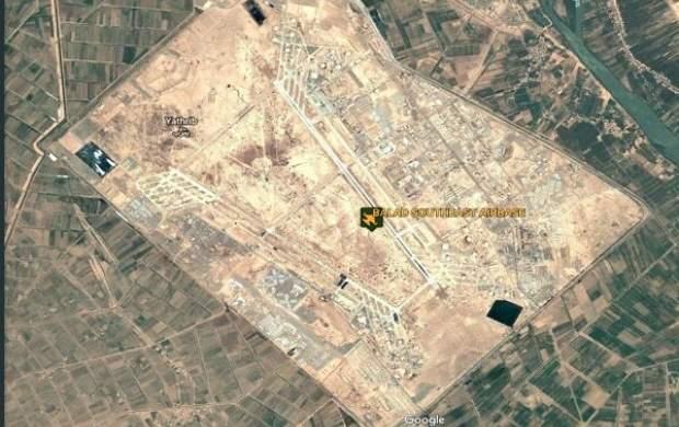 حمله راکتی به یک پایگاه هوایی در عراق