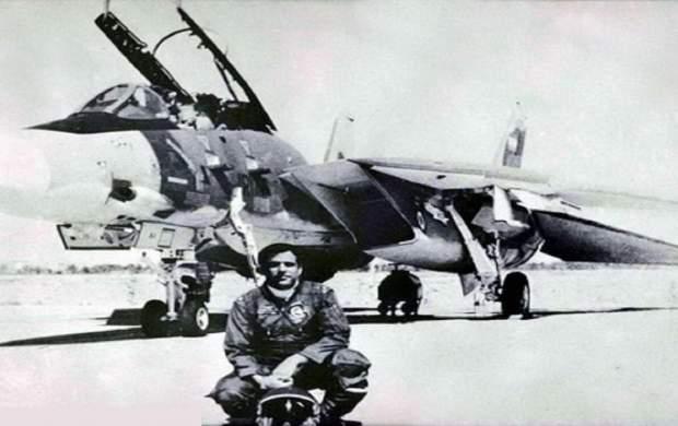 خلبان شهیدی که در خلیج فارس دفن شد +تصاویر