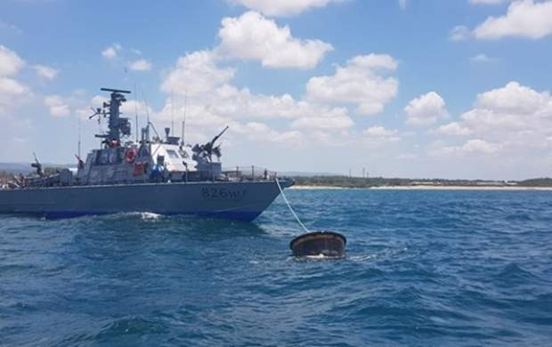 شلیک ناو رژیم صهیونیستی به یک قایق در غزه
