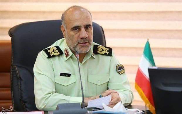 دستگیری یک خرابکار با جلیقه انفجاری در تهران