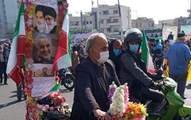 میزان محبوبیت ترامپ و بایدن در ایران