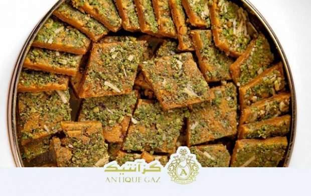 طرز تهیه گز و سوهان خانگی به عنوان شیرینی عید