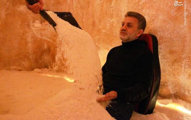 درمان با نمک در لبنان +عکس