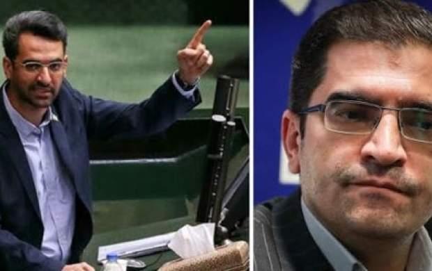 مناظره جنجالی وزیر ارتباطات با قاضیزاده