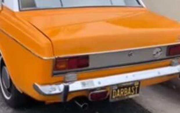 پیکان تاکسی در خیابانهای لسآنجلس!