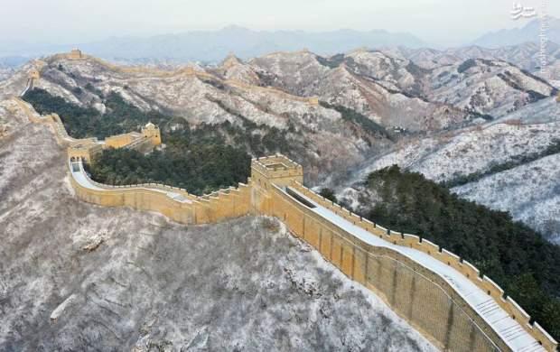 """تصاویر دیدنی برفی در دیوار چین  <img src=""""http://cdn.jahannews.com/images/picture_icon.gif"""" width=""""16"""" height=""""13"""" border=""""0"""" align=""""top"""">"""