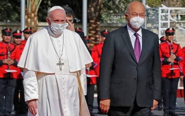 پاپ فرانسیس و رئیسجمهور عراق دیدار کردند
