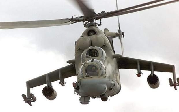 لحظات نفس گیر سقوط هلیکوپتر در تگزاس
