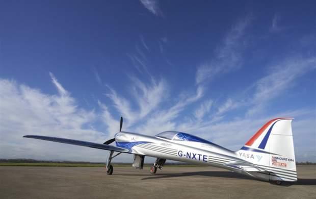 سریعترین هواپیمای برقی جهان ساخته شد