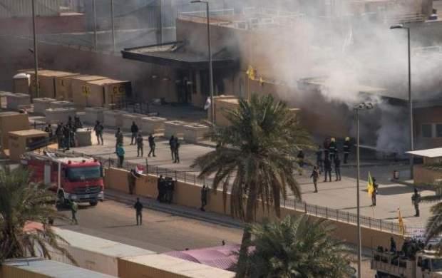 حمله راکتی به پایگاه نظامیان آمریکا در صلاح الدین