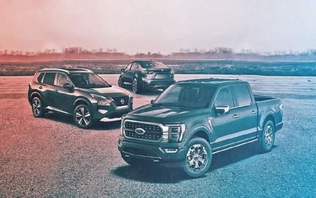 ۱۵ خودرو پرفروش در سال ۲۰۲۱ +تصاویر
