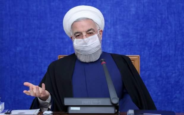 روحانی: هیچچیز مقدم بر واکسن نیست