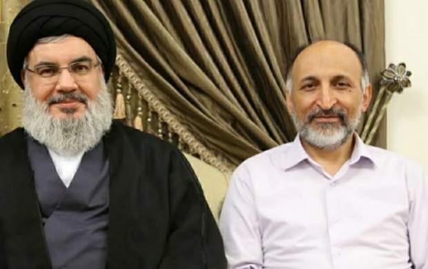 پیام دبیرکل حزب الله در پی شهادت سردار حجازی