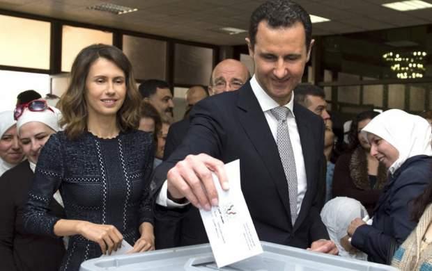 بشار اسد نامزد انتخابات ریاست جمهوری شد