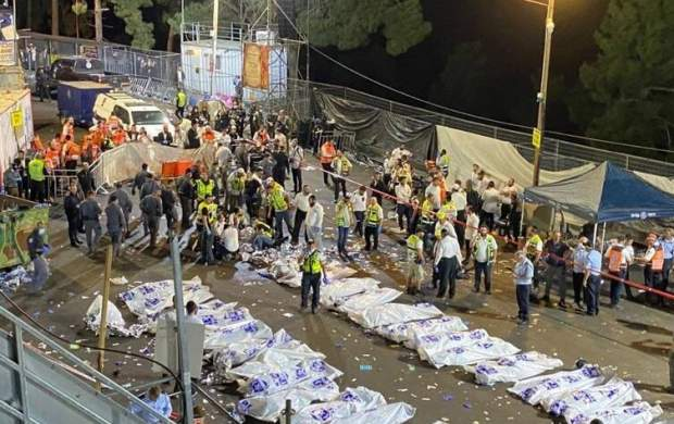 کشته شدن ۴۴ صهیونیست در سقوط پل