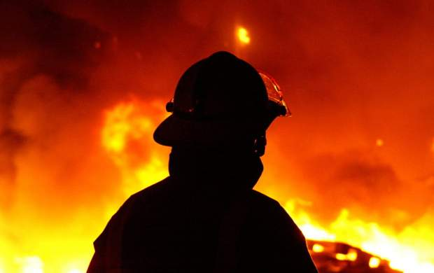 آتش سوزی در پتروشیمی حیفا +فیلم