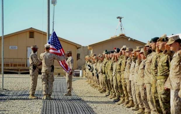 حمله راکتی به پایگاه آمریکا در  بغداد
