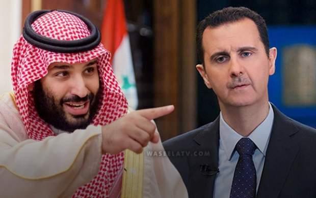سعودی ها به دیدار بشار اسد رفتند