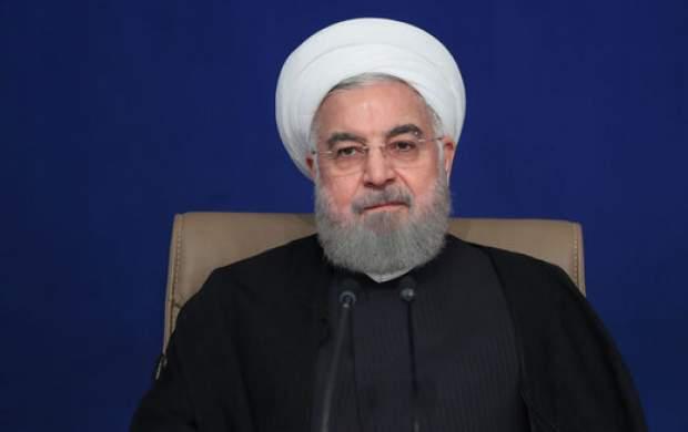 روحانی: از نظر من تحریم شکسته شده است