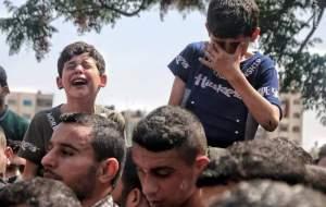 بیقراری نوجوان فلسطینی برای دوستانش