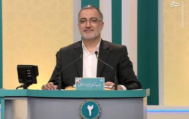 کنایه پوشکی زاکانی به دولت روحانی