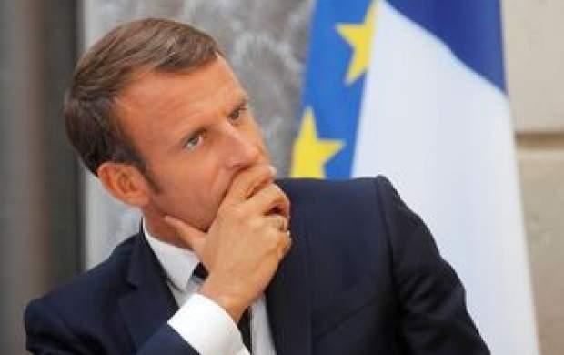 سیلی خوردن رئیسجمهور فرانسه +فیلم