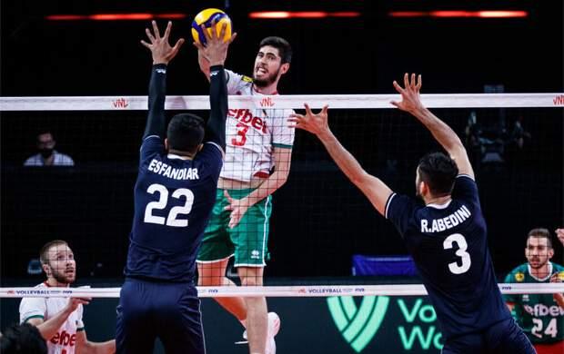 ترکیب تیم والیبال ایران برای دیدار با آمریکا