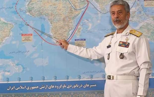 ناوشکن تمام ایرانی در اقیانوس اطلس