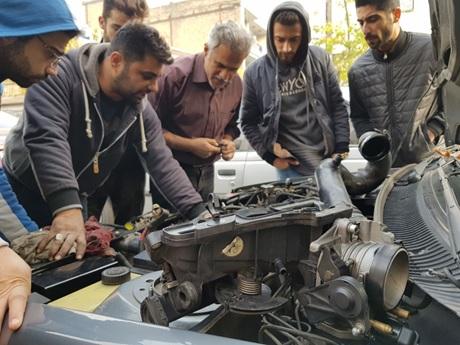 آموزش تعمیر سیستم برق خودرو