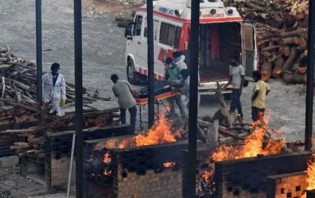 هند رکورد تلفات روزانه کرونا در جهان را شکست