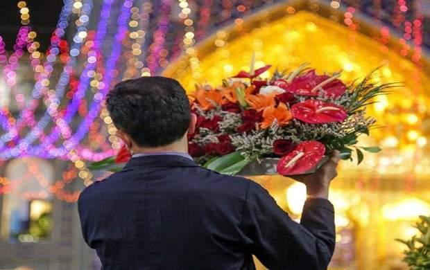 حرم مطهر امام رضا(ع) امشب گلباران میشود