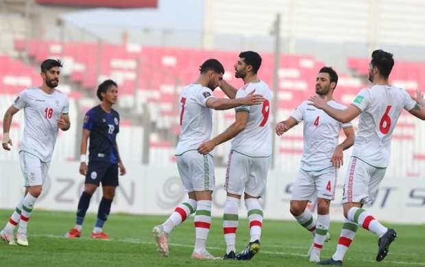 آتش بازی تیم ملی ایران مقابل کامبوج