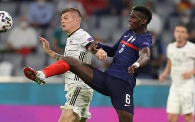 شکست خانگی آلمان مقابل فرانسه