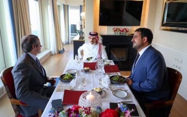 رایزنی وزیرخارجه سعودی با گروسی درباره ایران