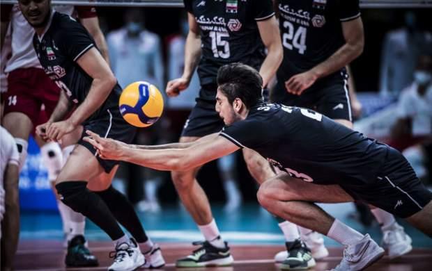 باخت بد والیبال ایران مقابل لهستان