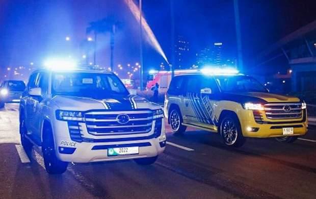 تویوتا لندکروزر 2022 ماشین پلیس شد +عکس