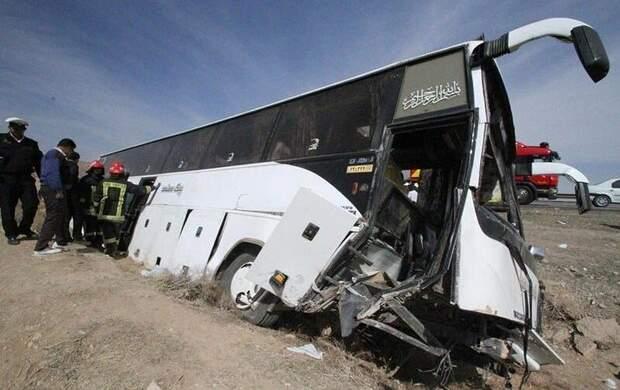 تایر اتوبوس سربازان صاف بود!