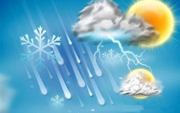 امروز درکدام استانهای کشور باران میبارد؟