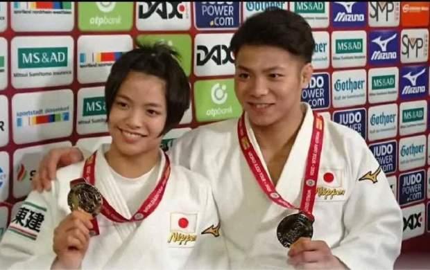 برادر و خواهر طلایی المپیک ۲۰۲۰ +عکس