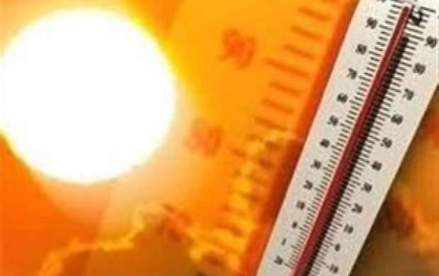 افزایش دمای برخی استانها به بالای ۵۰ درجه