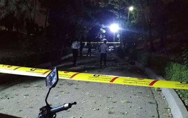 انفجار شی ناشناس در پارک ملت +عکس/ نظر پلیس؟