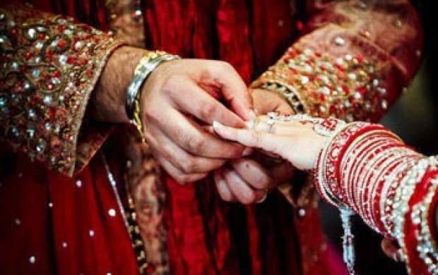 لحظه حمله مادر به داماد در عروسی! +فیلم