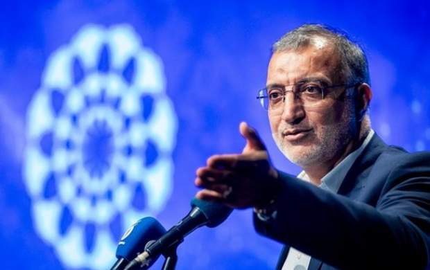 نامه زاکانی به قالیباف درباره اقدام دولت
