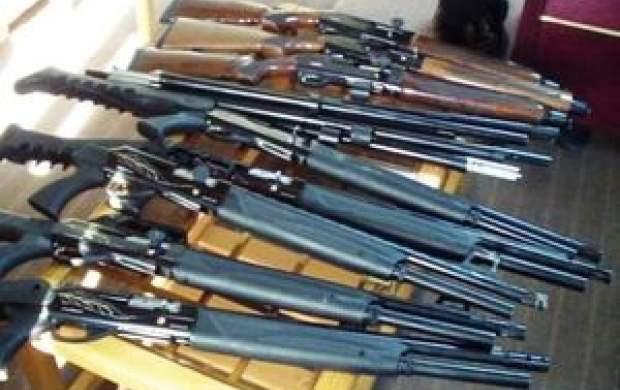 انهدام باند قاچاق سلاح جنگی در غرب کشور
