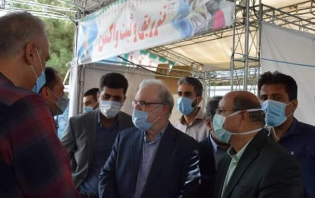 خبر وزیر بهداشت از سرعت واکسیناسیون