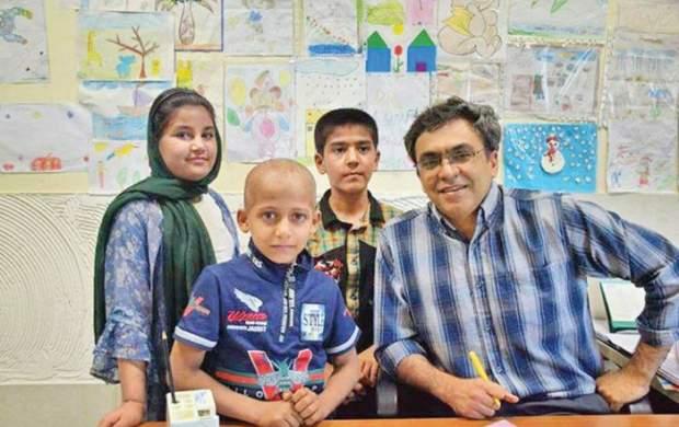 پزشکی که عاشق کودکان سرطانی است